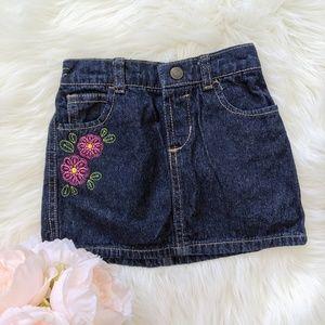 [3 for $18] 24M Faded Glory denim skirt